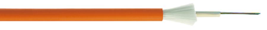کابل فیبر نوری سنترال تیوب با روکش LSZH
