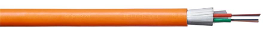 کابل فیبر نوری مالتی لوز تیوب با روکش LSZH