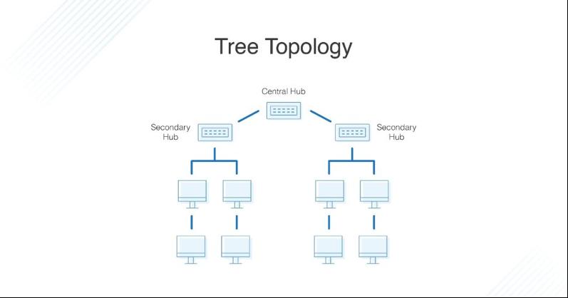 مشخصات توپولوژی درختی
