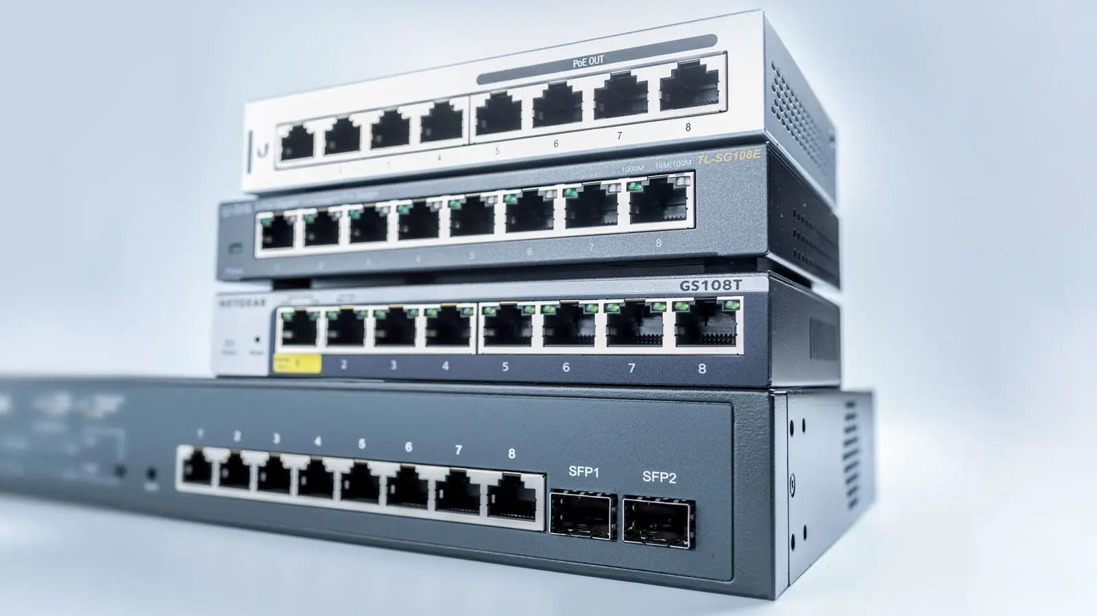 هاب hub - سوئیچ Switch و روتر Router